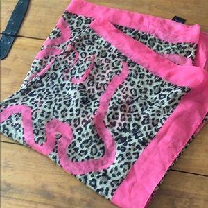 Fun and Fancy Cheetah Print Women's Scarf